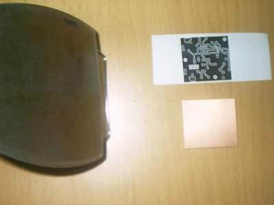 Ütü ile baskı devre yapımı-2