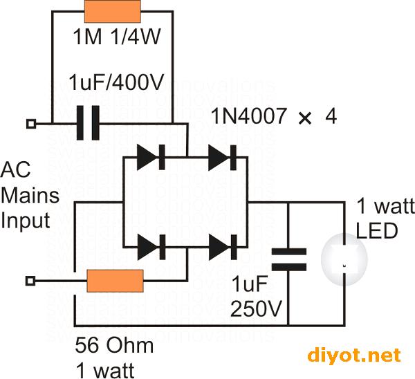 1-watt-LED-Driver