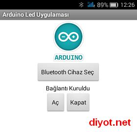 Android ile Cihaz Kontrolü