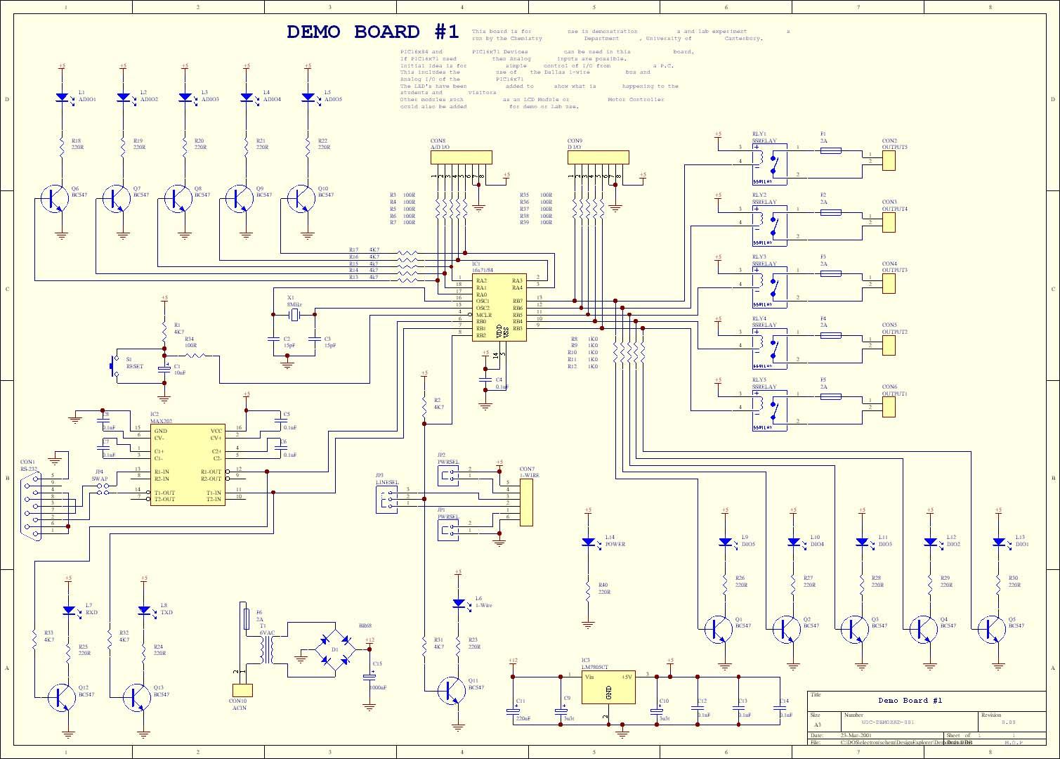 Index Of Wp Content Uploads 2014 09 Additionally Camera Taser Schematics Further Stun Gun Circuit Diagram Pic Hi Tech C Mike Pearces Demo Board