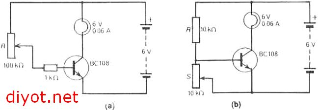 Transistörün Anahtarlama Elemanı Olarak Çalıştırılması