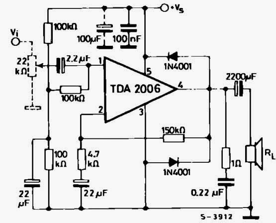 12 Watt Mono Amfi Devresi