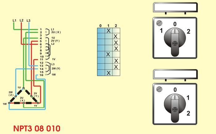 motor ve şalter bağlantıları